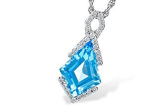 C327-66274: NECK 2.40 BLUE TOPAZ 2.53 TGW