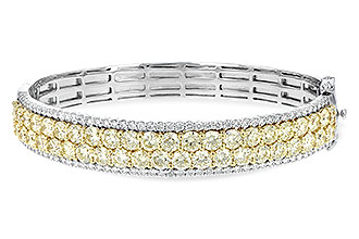 D244-03565: BANGLE 8.17 YELLOW DIA 9.64 TW