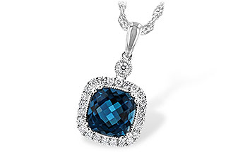 M244-01728: NECK 1.63 LONDON BLUE TOPAZ 1.80 TGW